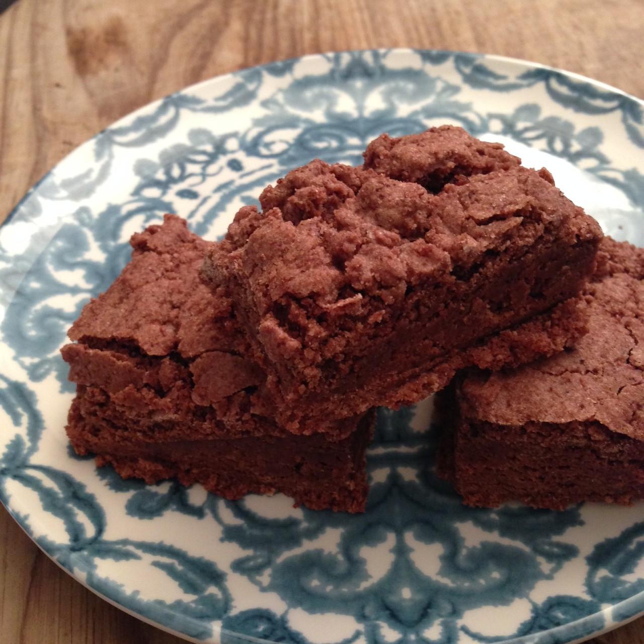 Chocolate fudge brownies. Need we say more?